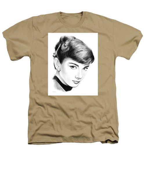 Audrey Hepburn Heathers T-Shirt by Greg Joens