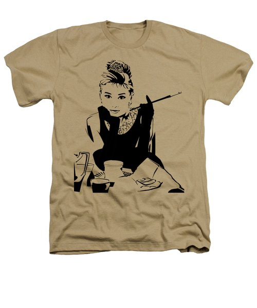 Audrey Hepburn Heathers T-Shirt by Ryan Burton