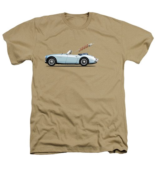 Austin Healey 3000 Mk3 Heathers T-Shirt by Mark Rogan