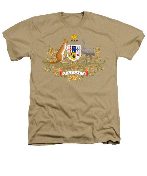 Australia Coat Of Arms Heathers T-Shirt