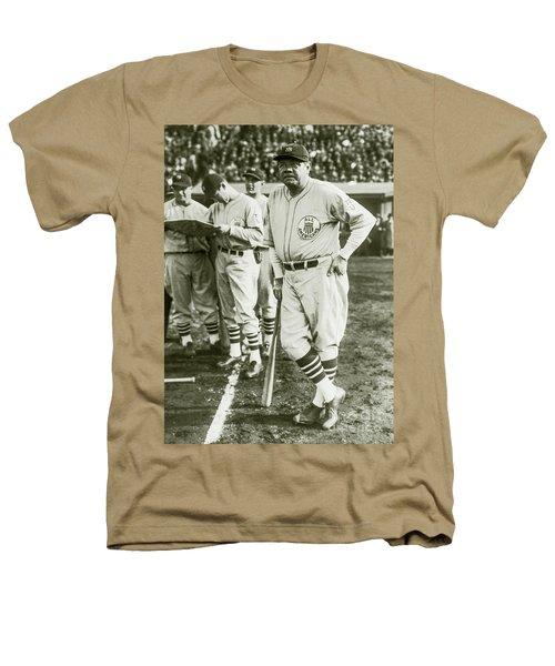 Babe Ruth All Stars Heathers T-Shirt by Jon Neidert