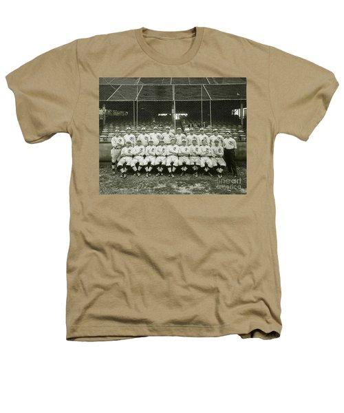 Babe Ruth Providence Grays Team Photo Heathers T-Shirt