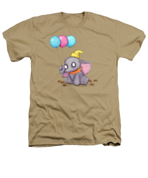Baby Elephant  Heathers T-Shirt