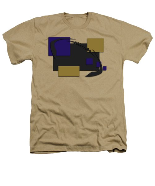 Baltimore Ravens Abstract Shirt Heathers T-Shirt by Joe Hamilton