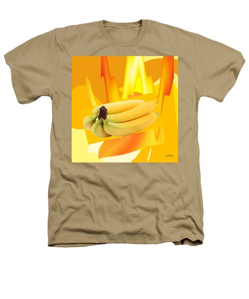 Banana Boat Heathers T-Shirt by Jacquie King