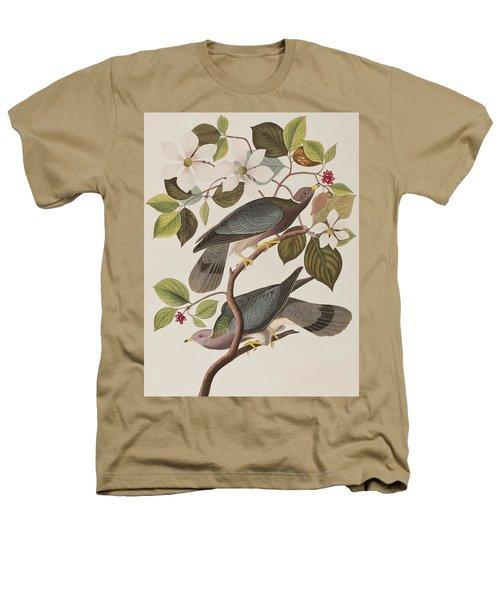 Band-tailed Pigeon  Heathers T-Shirt by John James Audubon