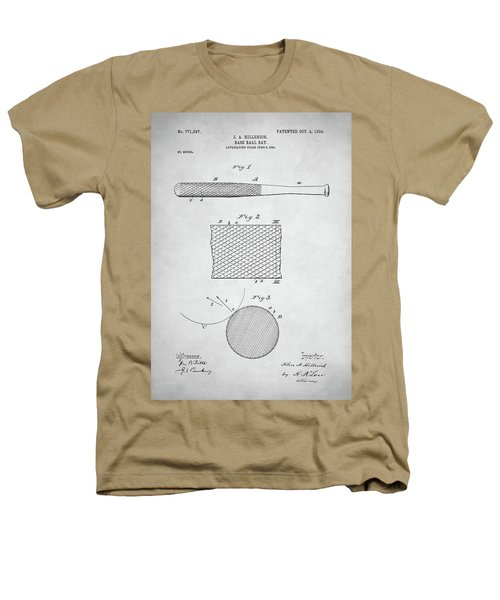 Baseball Bat Patent Heathers T-Shirt by Taylan Apukovska