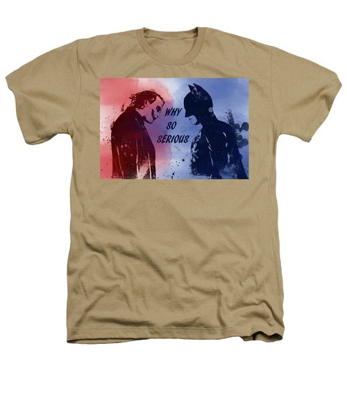 Batman And Joker Heathers T-Shirt