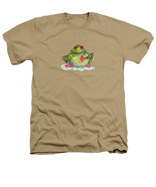 Be Still My Heart Heathers T-Shirt by Amy Kirkpatrick