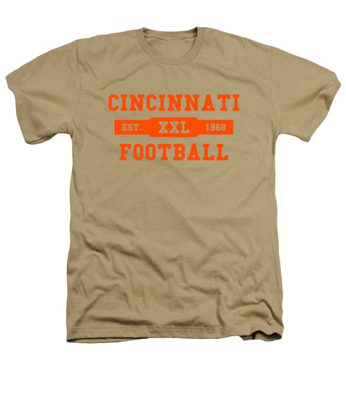 Bengals Retro Shirt Heathers T-Shirt by Joe Hamilton