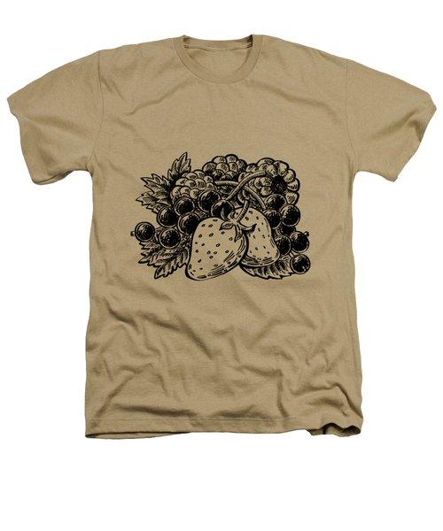 Berries From Forest Heathers T-Shirt by Irina Sztukowski