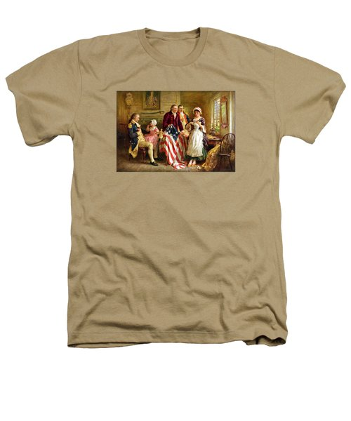 Betsy Ross And General George Washington Heathers T-Shirt