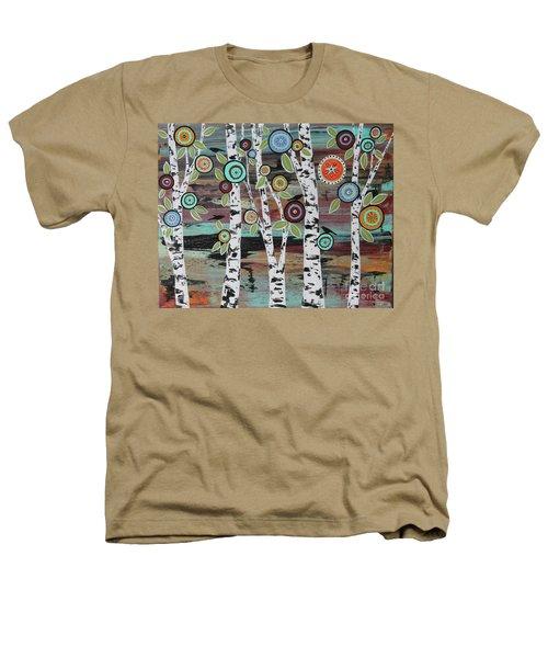 Birch Woods Heathers T-Shirt by Karla Gerard