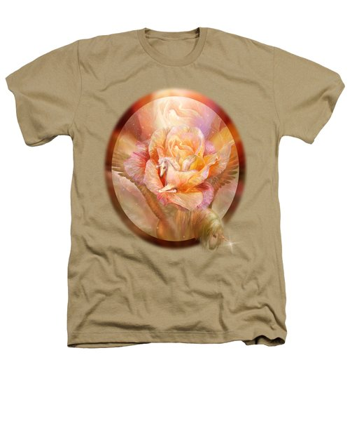 Birth Of A Unicorn Heathers T-Shirt by Carol Cavalaris