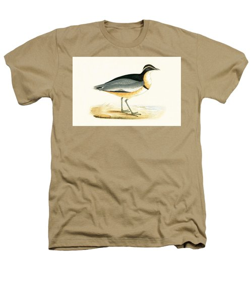 Black Headed Plover Heathers T-Shirt by English School