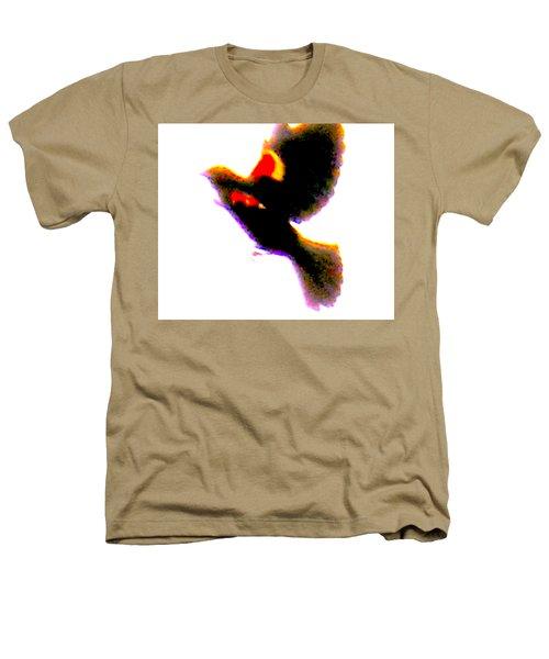 Blackbird Impressionism Heathers T-Shirt by Veronica M Gabet