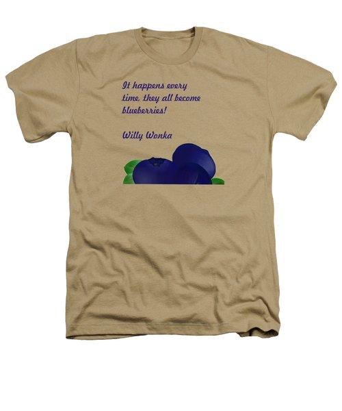 Blueberries Heathers T-Shirt