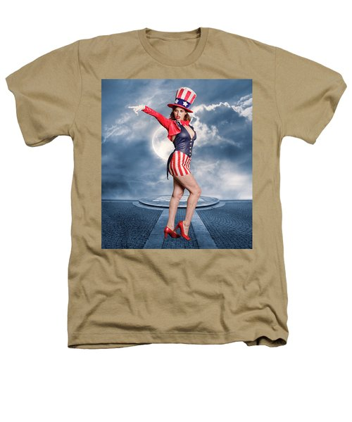 Born In The Usa Heathers T-Shirt