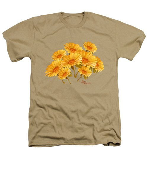 Bouquet Of Daisies Heathers T-Shirt by Angeles M Pomata