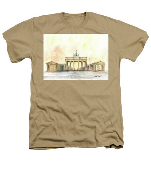 Brandenburger Tor, Berlin Heathers T-Shirt