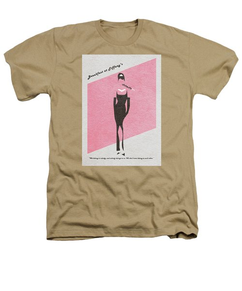 Breakfast At Tiffany's Heathers T-Shirt by Ayse Deniz