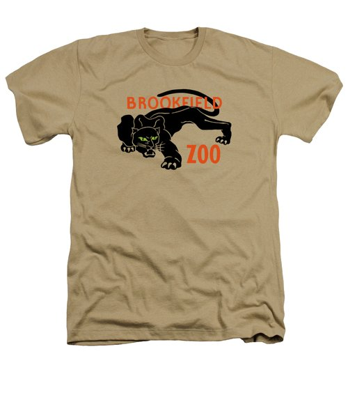 Brookfield Zoo Wpa Heathers T-Shirt by War Is Hell Store