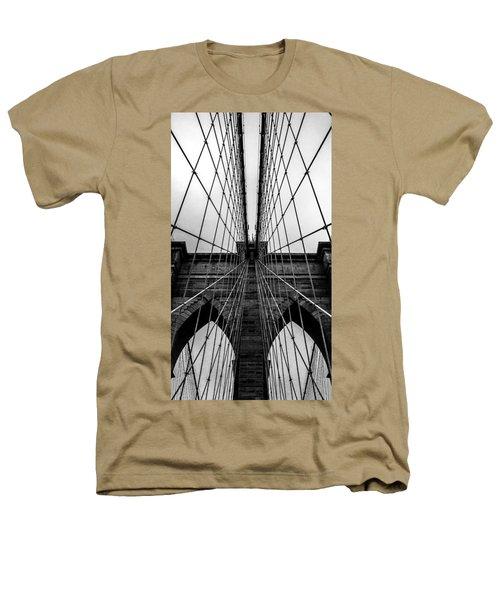 Brooklyn's Web Heathers T-Shirt by Az Jackson