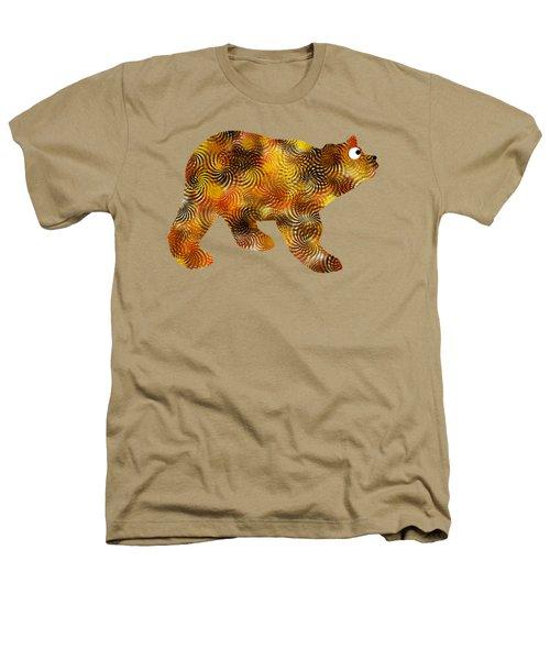 Brown Bear Silhouette Heathers T-Shirt