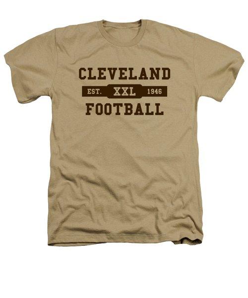 Browns Retro Shirt Heathers T-Shirt by Joe Hamilton