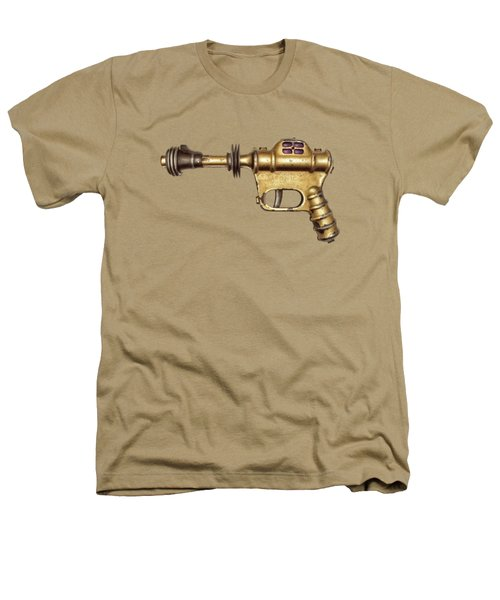 Buck Rogers Ray Gun Heathers T-Shirt by YoPedro