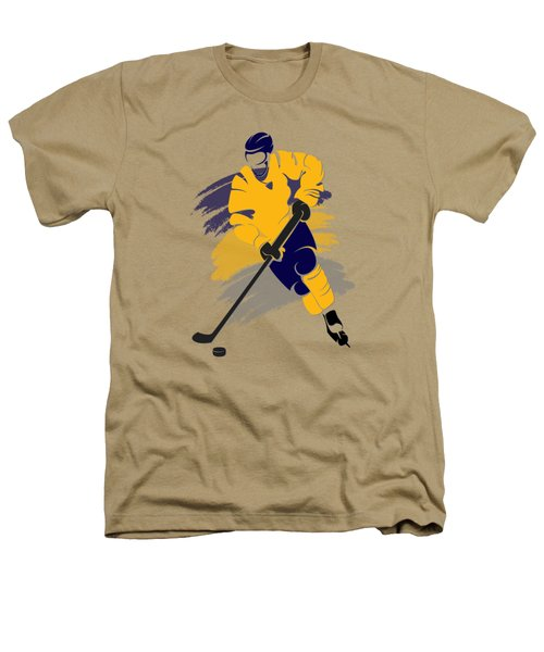 Buffalo Sabres Player Shirt Heathers T-Shirt by Joe Hamilton