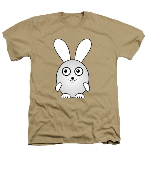 Bunny - Animals - Art For Kids Heathers T-Shirt by Anastasiya Malakhova