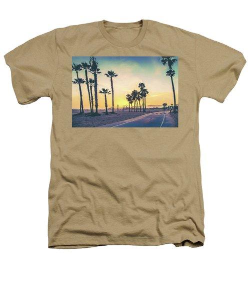 Cali Sunset Heathers T-Shirt by Az Jackson