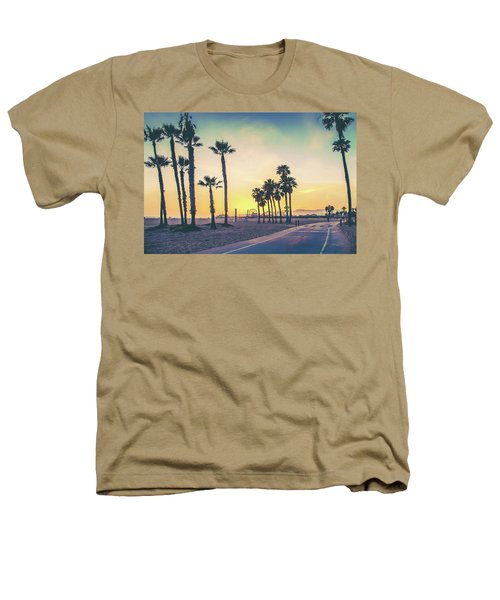 Cali Sunset Heathers T-Shirt