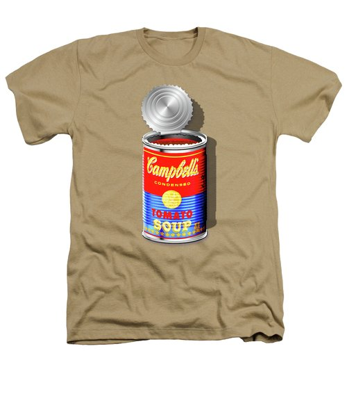 Campbell's Soup Revisited - Red And Blue   Heathers T-Shirt by Serge Averbukh