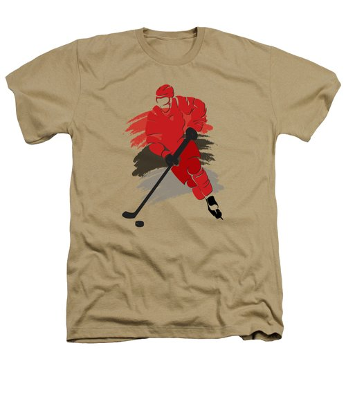 Carolina Hurricanes Player Shirt Heathers T-Shirt by Joe Hamilton