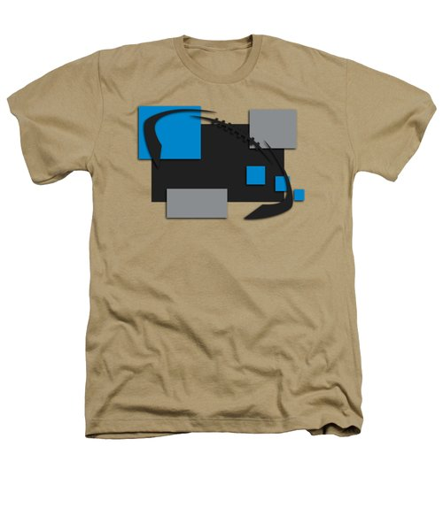 Carolina Panthers Abstract Shirt Heathers T-Shirt by Joe Hamilton
