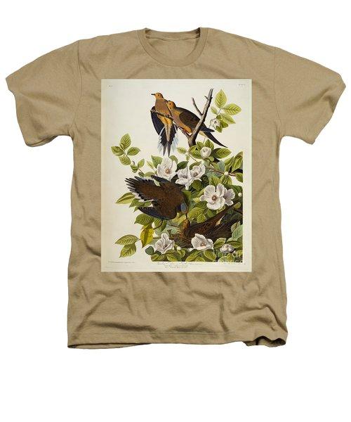 Carolina Turtledove Heathers T-Shirt by John James Audubon
