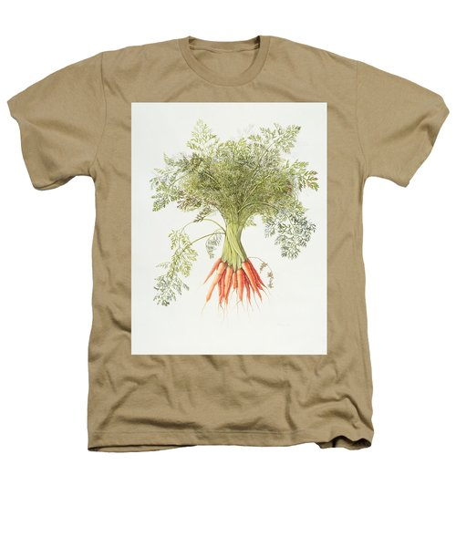 Carrots Heathers T-Shirt by Margaret Ann Eden