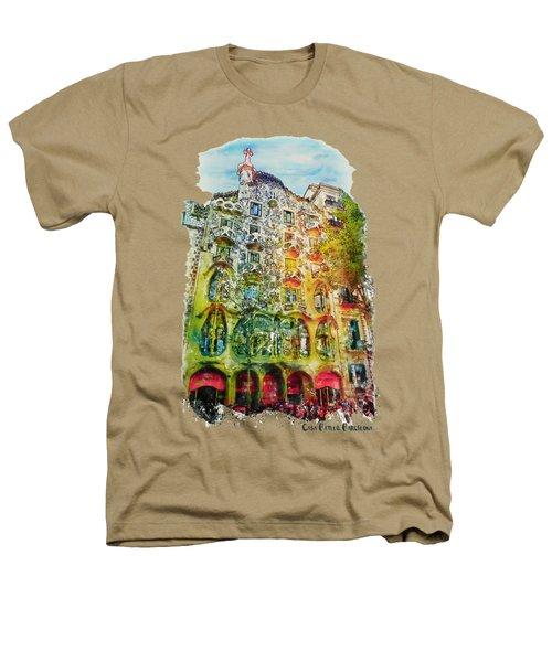 Casa Batllo Barcelona Heathers T-Shirt