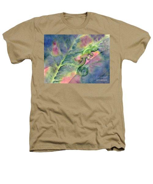 Chameleon Heathers T-Shirt by Amy Kirkpatrick
