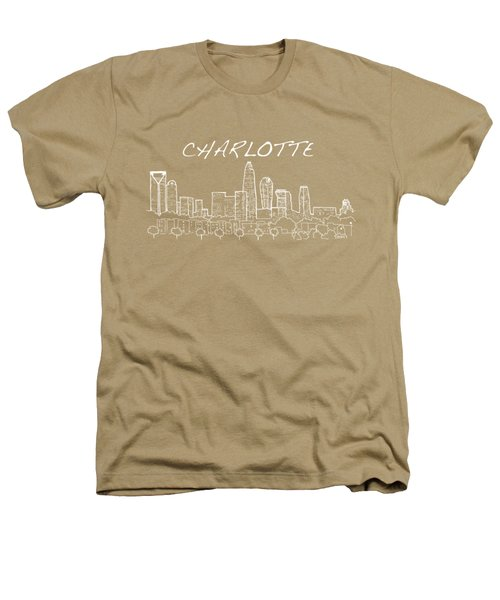 Charlotte Nc With Text View From The East Heathers T-Shirt