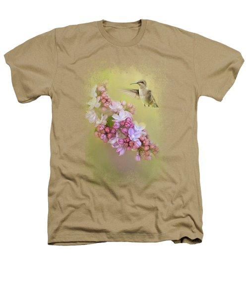 Chasing Lilacs Heathers T-Shirt by Jai Johnson