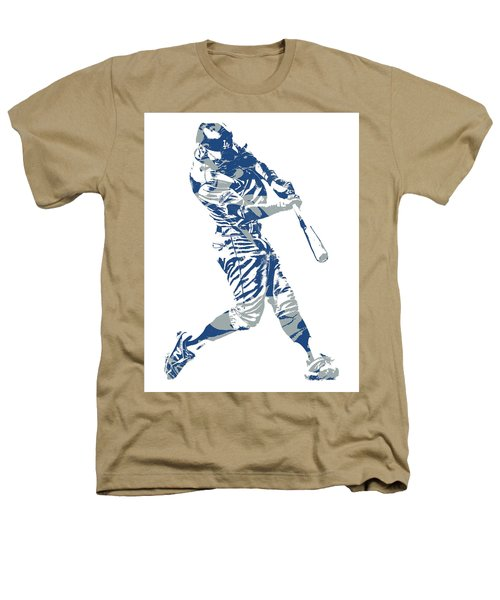 Chris Taylor Los Angeles Dodgers Home Run Heathers T-Shirt