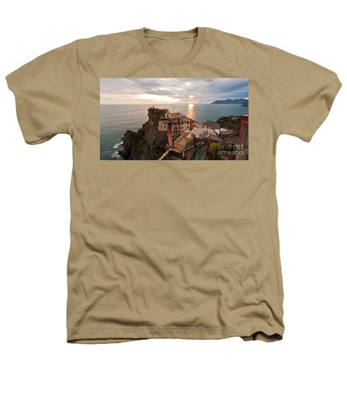 Cinque Terre Tranquility Heathers T-Shirt