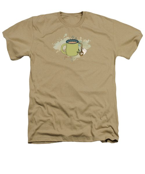 Climbing Mt Cocoa Illustrated Heathers T-Shirt