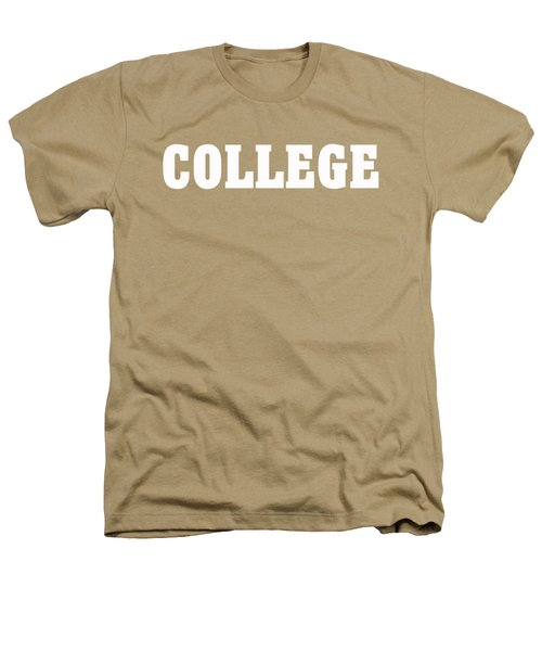 College Tee Heathers T-Shirt by Edward Fielding