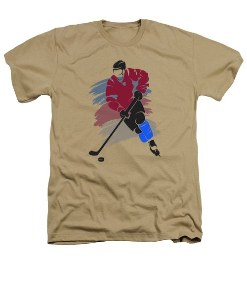 Colorado Avalanche Player Shirt Heathers T-Shirt by Joe Hamilton
