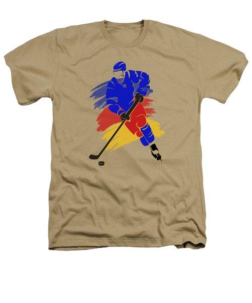 Colorado Rockies Player Shirt Heathers T-Shirt by Joe Hamilton