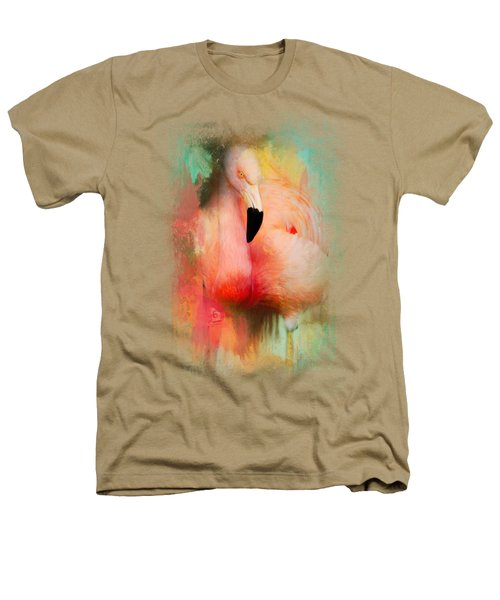 Colorful Expressions Flamingo Heathers T-Shirt